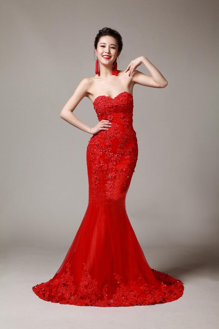 f740015a17d Красное платье  100+ фото модных трендов
