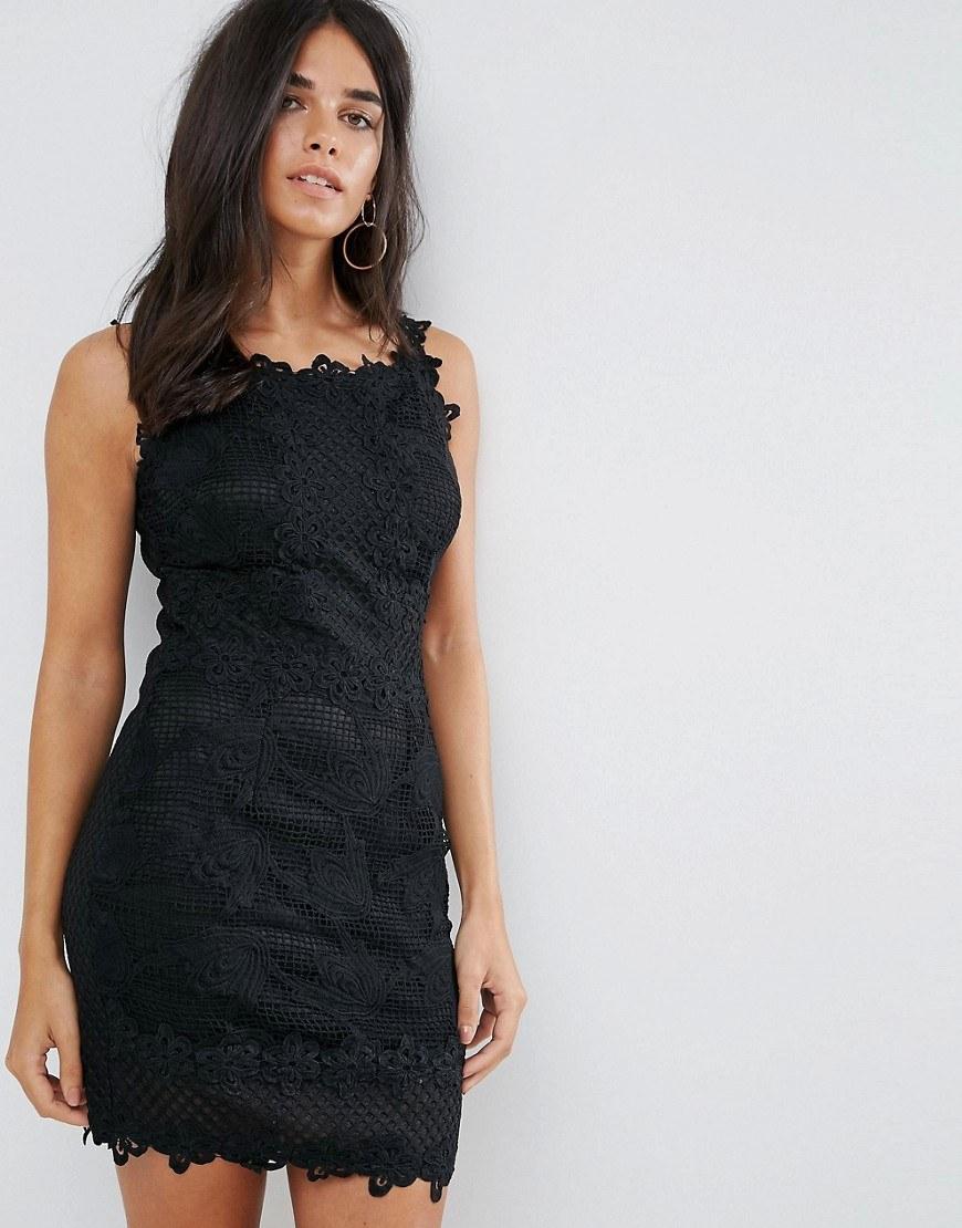 b7ce1183b3f8003 Трудно представить себе более культовый и элегантный элемент женского  гардероба, чем кружевное черное платье. Эта вещь поражает своей  практичностью, ...