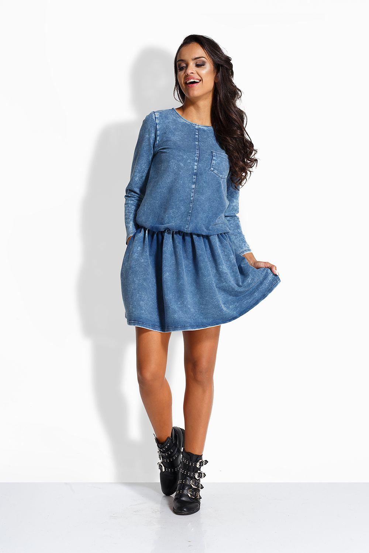 d247865f8a0 Джинсовые платья – универсальная одежда