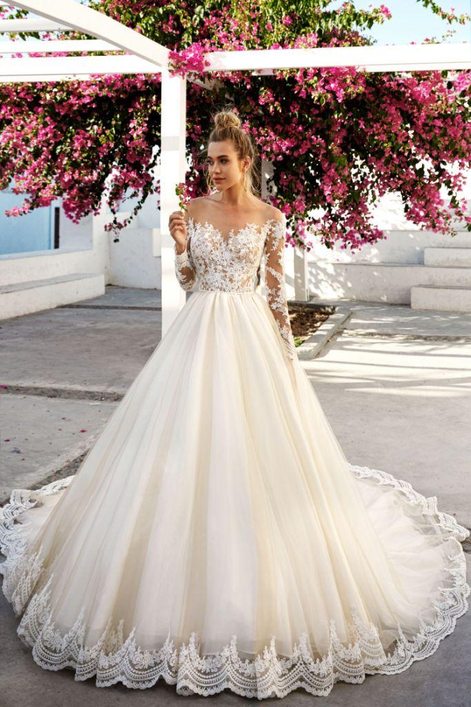 Cudowna Koronkowe suknie ślubne: klasyczne dla niesamowitych stylizacji TK88