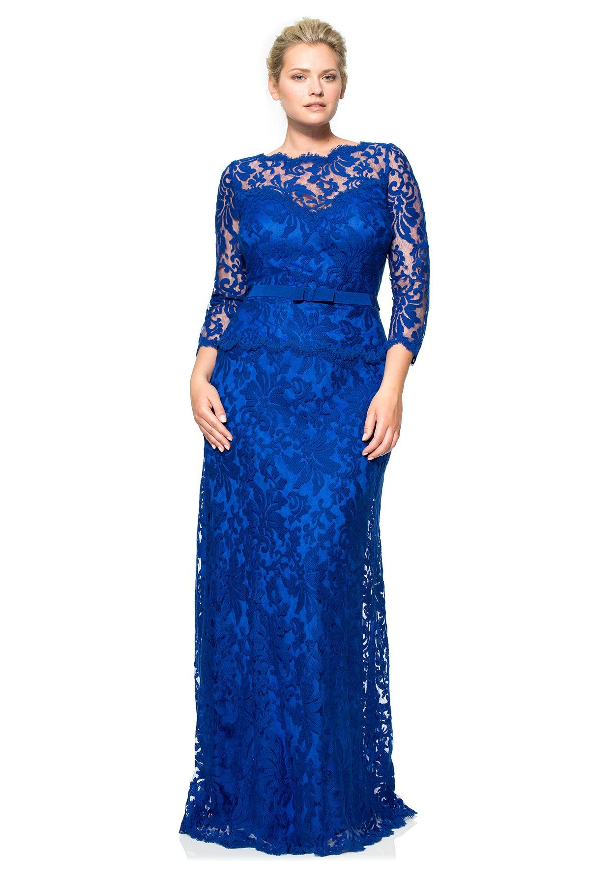 49ab60bc401 Вечерние платья для полных  100+ фото красивых моделей и фасонов