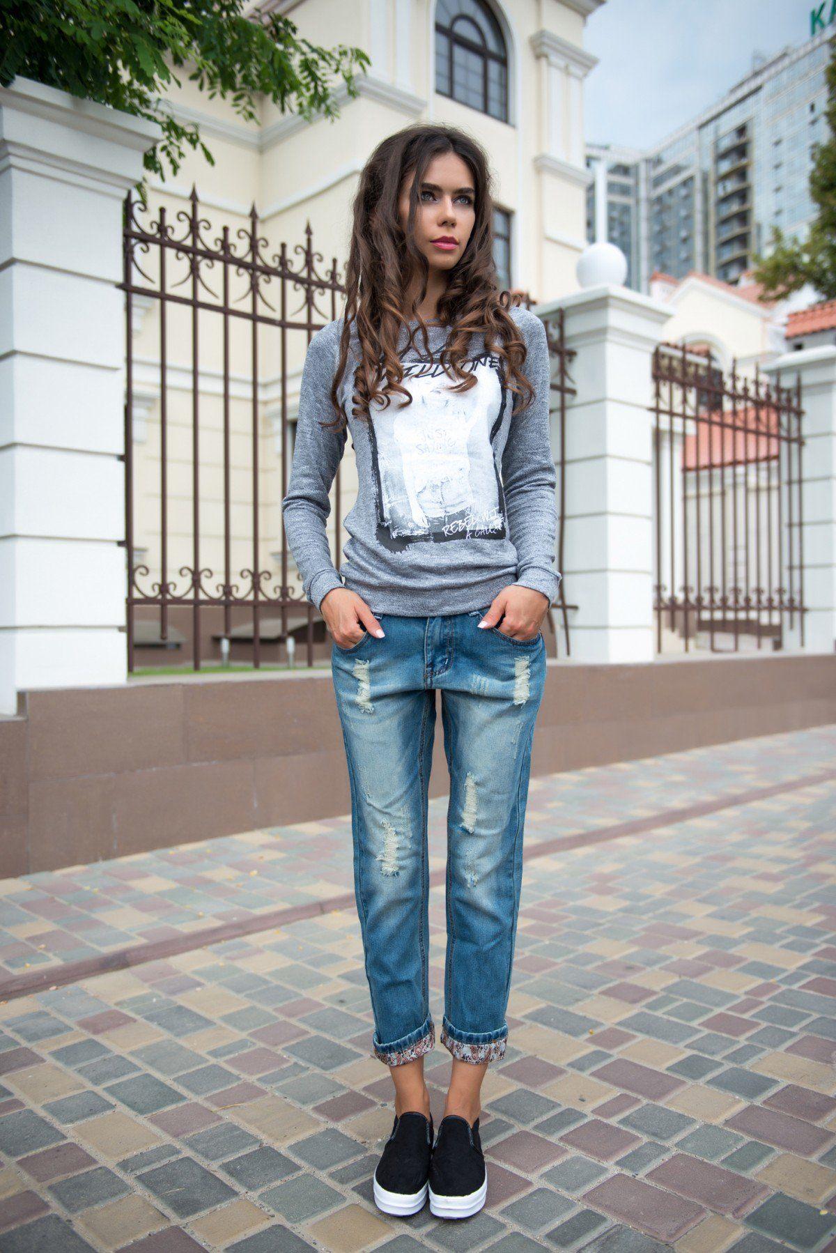 с чем модно носить джинсы фото есть