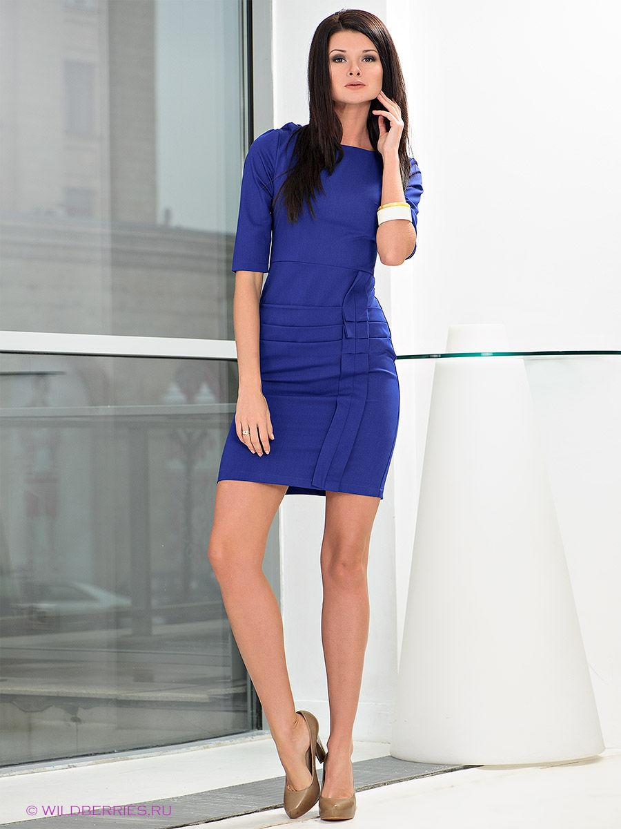 70 изумительных синих платьев: как выбрать и с чем носить
