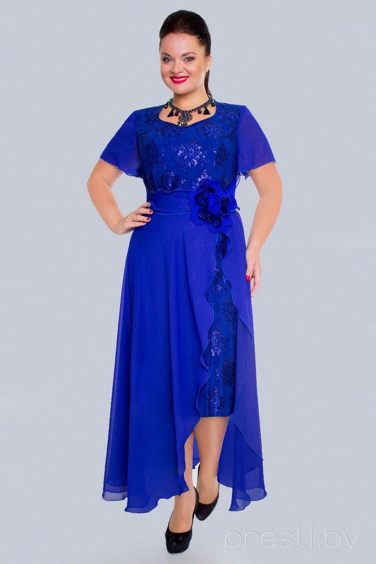 57daeca514d3 Вечерние платья для полных: 100+ фото красивых моделей и фасонов