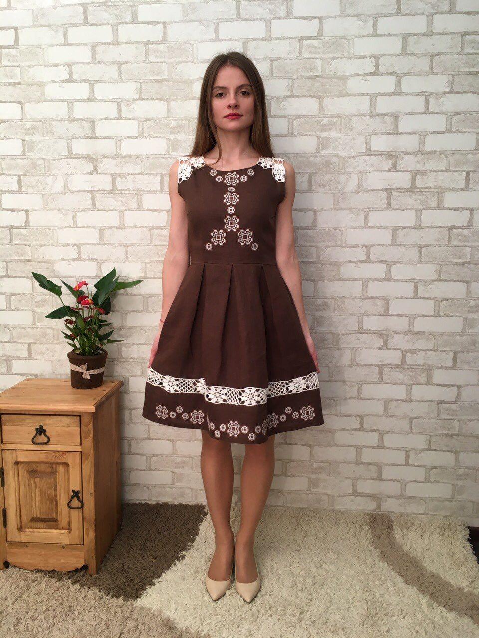 d3328a99dde7cac Льняное платье: 100+ нежных образов, фасонов, моделей, новинок