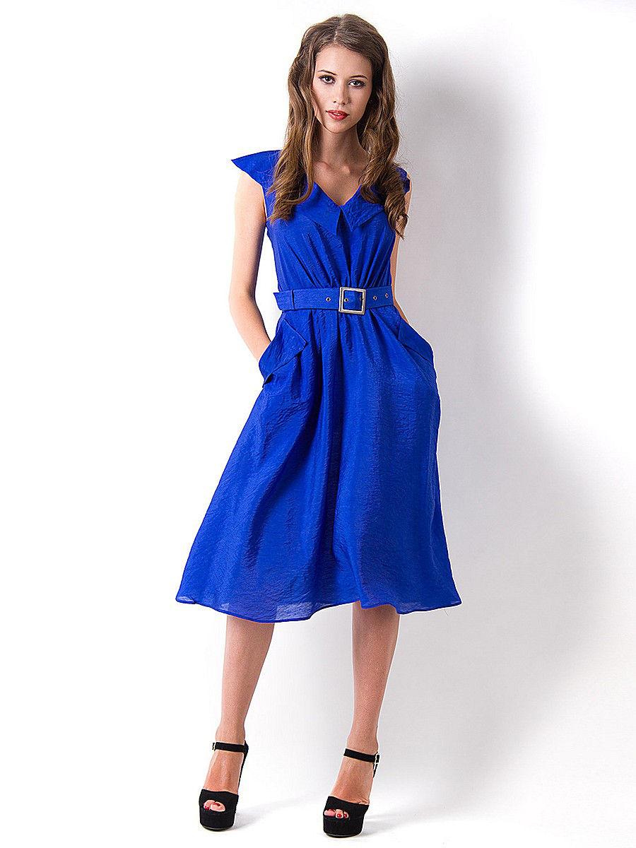 bfdb950faf3d 70 úžasné modré šaty  ako si vybrať a čo nosiť