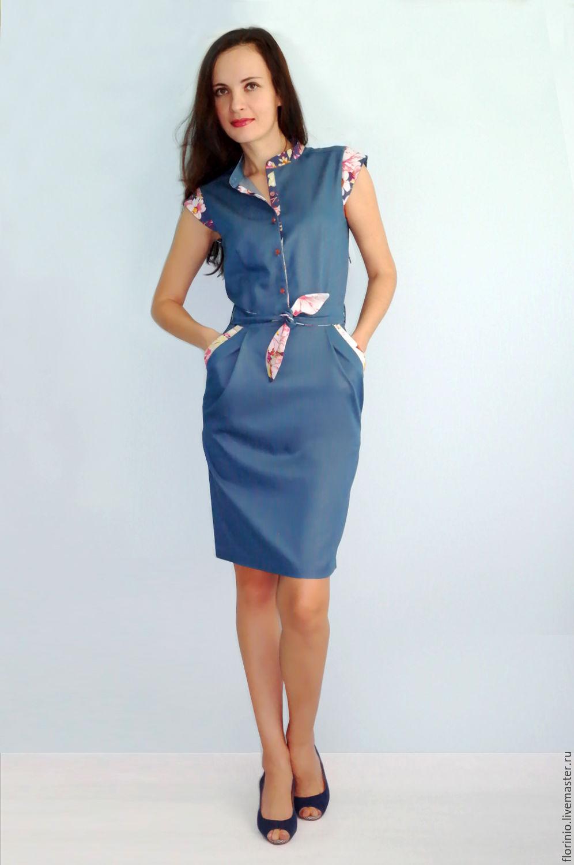 dd61d1b1d50 Платье-футляр из денима выглядит очень женственно и утонченно. Оно  незаменимо для повседневных и офисных луков. Особенно стильно джинсовое  платье-футляр ...