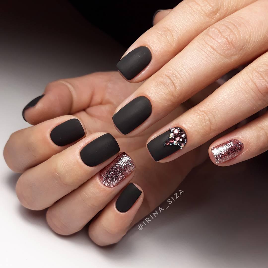 Красивые оттенки темного цвета