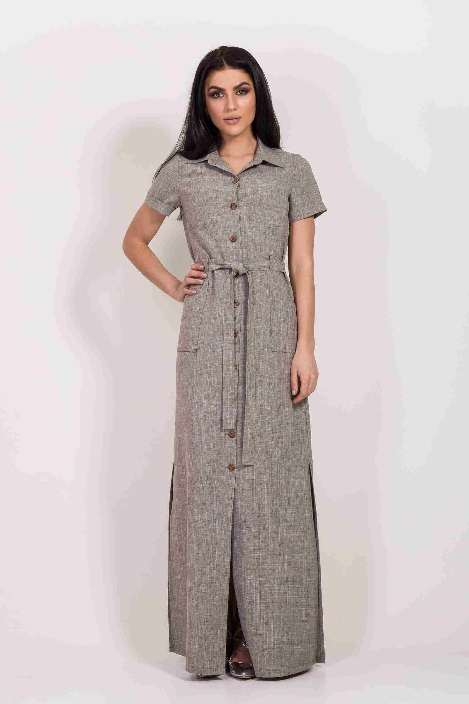 41ba1dfdd22 Льняное платье  100+ нежных образов