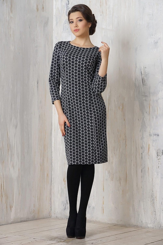 ef498039d1b Повседневные трикотажные платья – это модели с контрастным декором в виде  полос