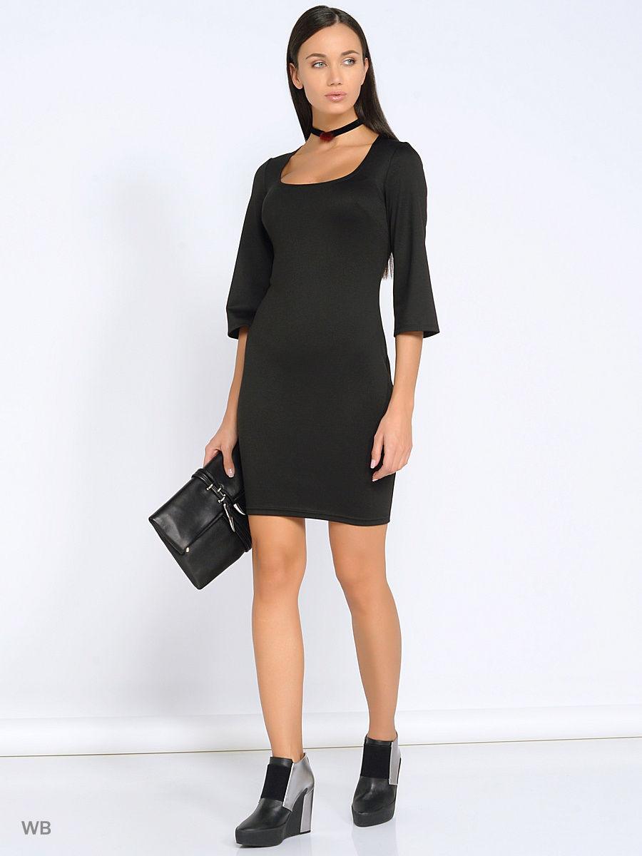 7e89dcfbd74 Платье-футляр в большинстве случаев представлено моделями прямого или  зауженного силуэта. В черном или насыщенном синим цвете они выглядят просто  ...