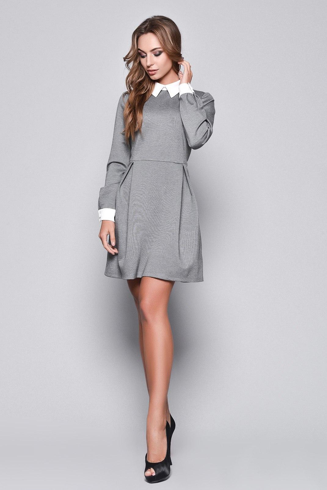 fb4e1e73bc53be6 Выбирайте модели с кружевными или вязаными воротниками. Эффектно и очень  привлекательно выглядит платье с ажурным оформлением на рукавах.