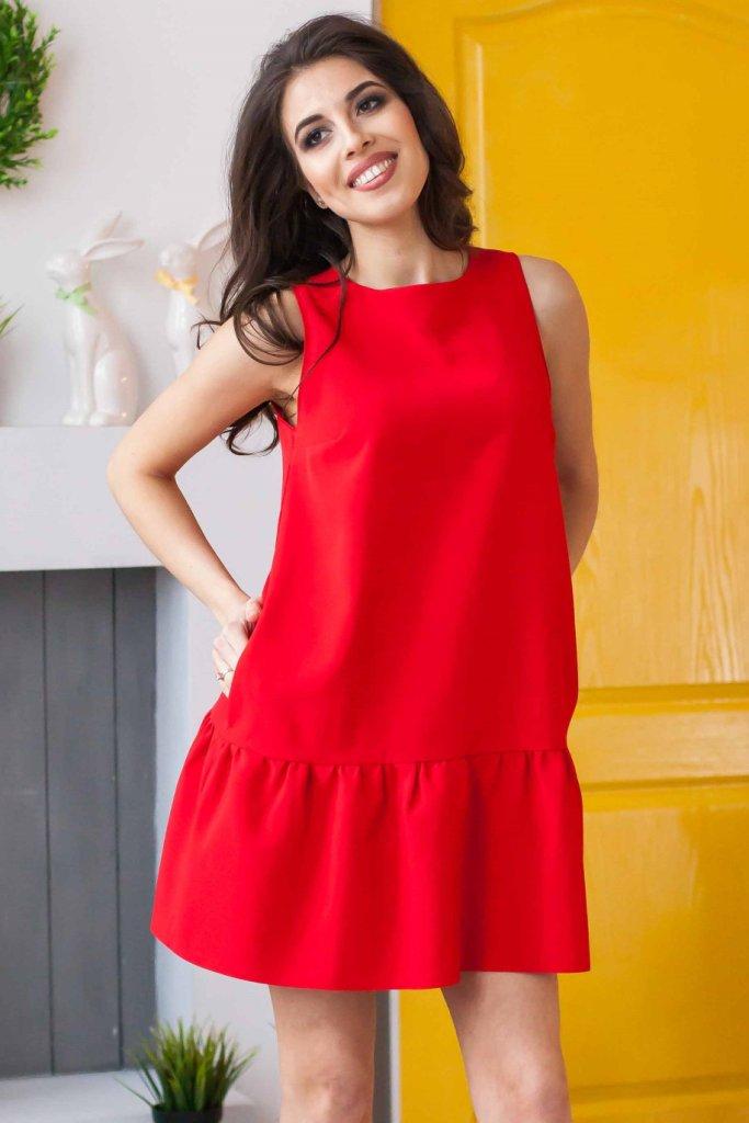 06f086e3412 При выборе платья с воланами нужно также учитывать тип ткани