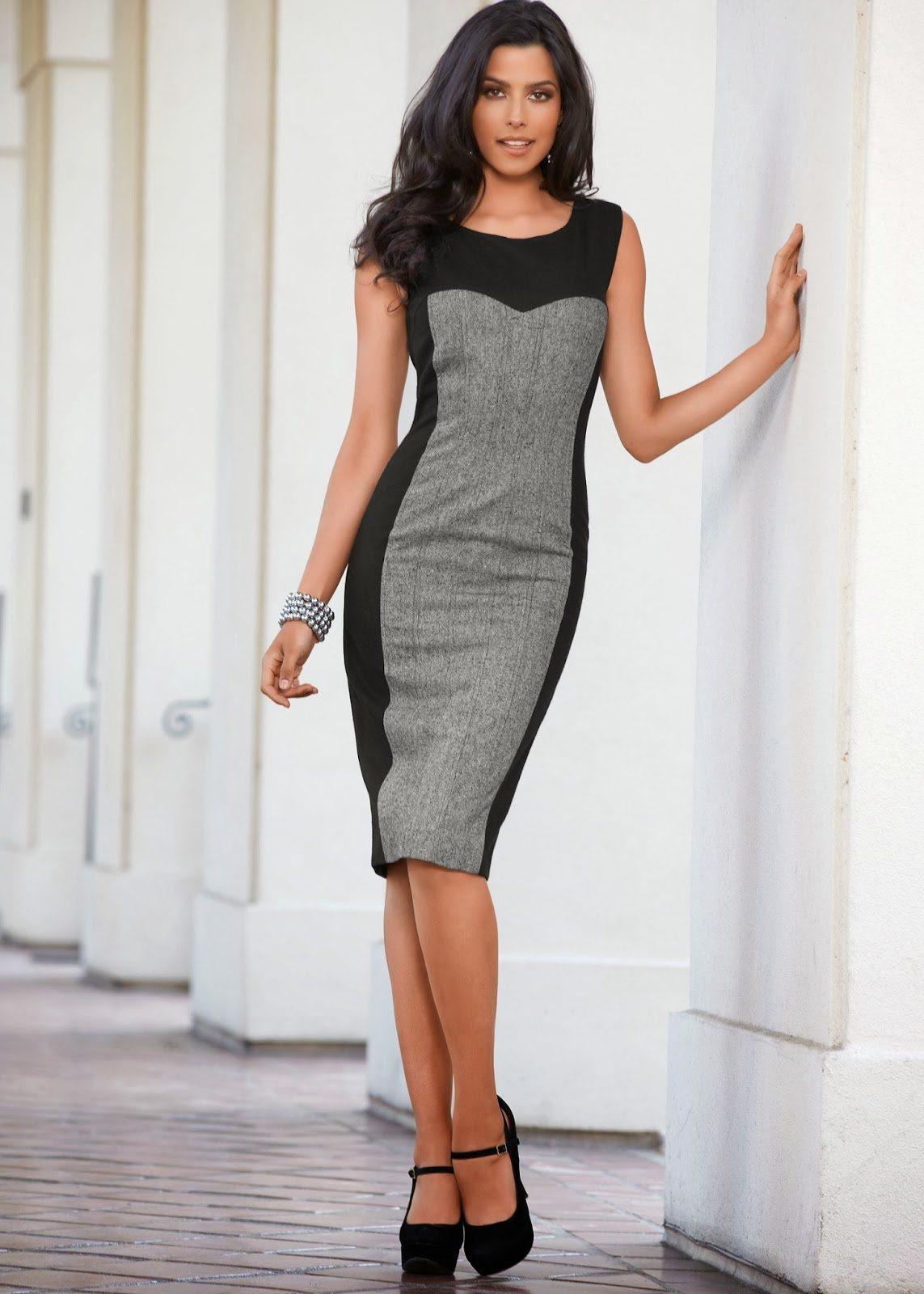 красивые офисные платья фото чем