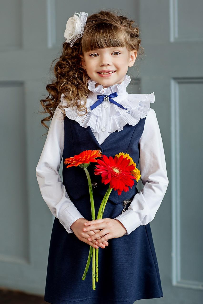 45acb1a72d1 Школьные блузки  100+ фото красивых фасонов и сочетаний