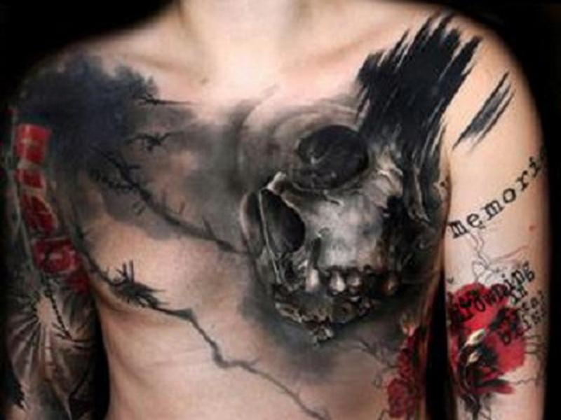 уникальная татуировка