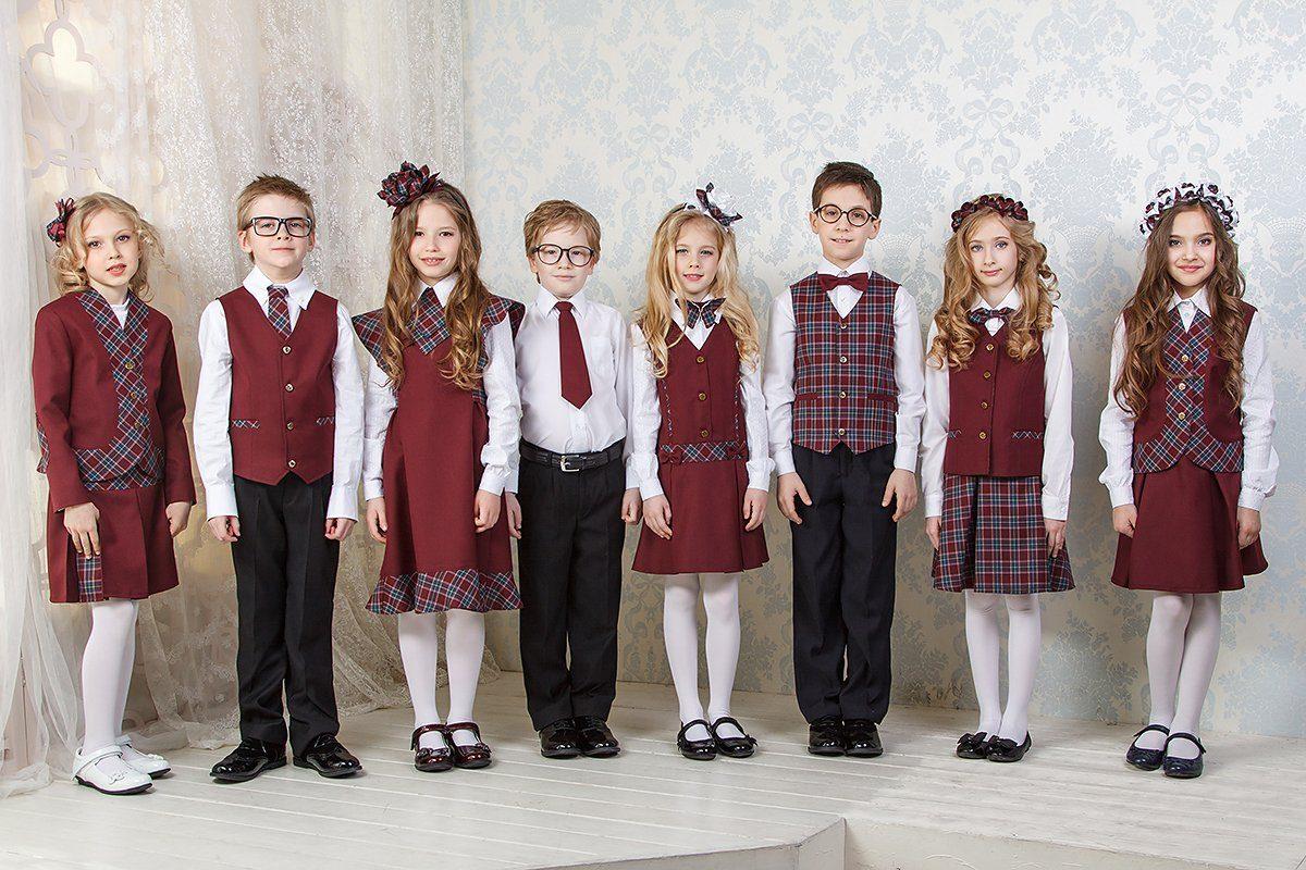 Дети в школьной форме фото