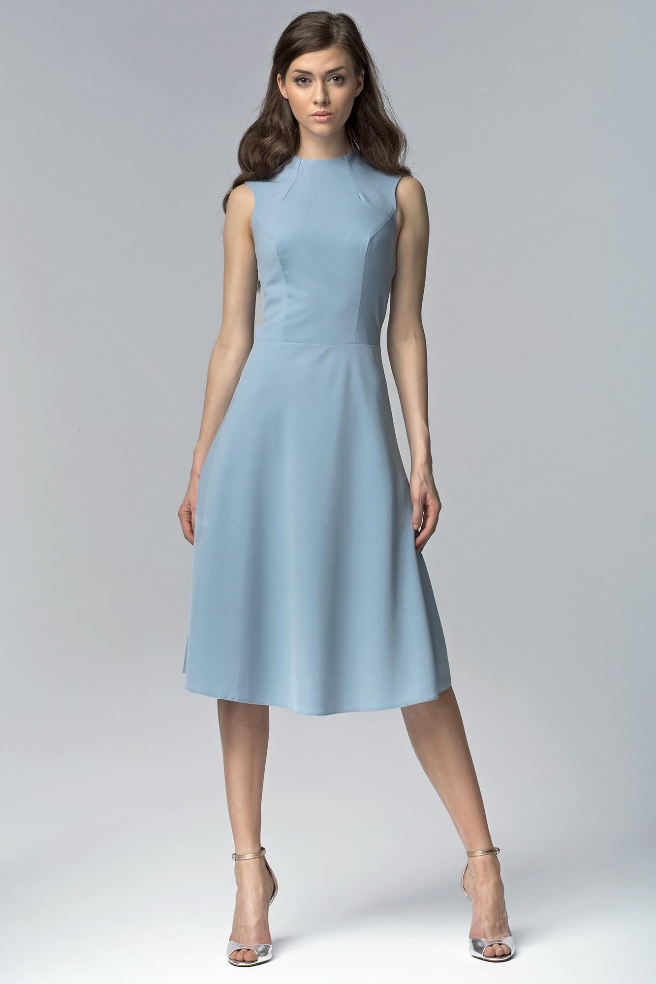 blaues kleid: 70 stilvolle und zarte ideen für einen