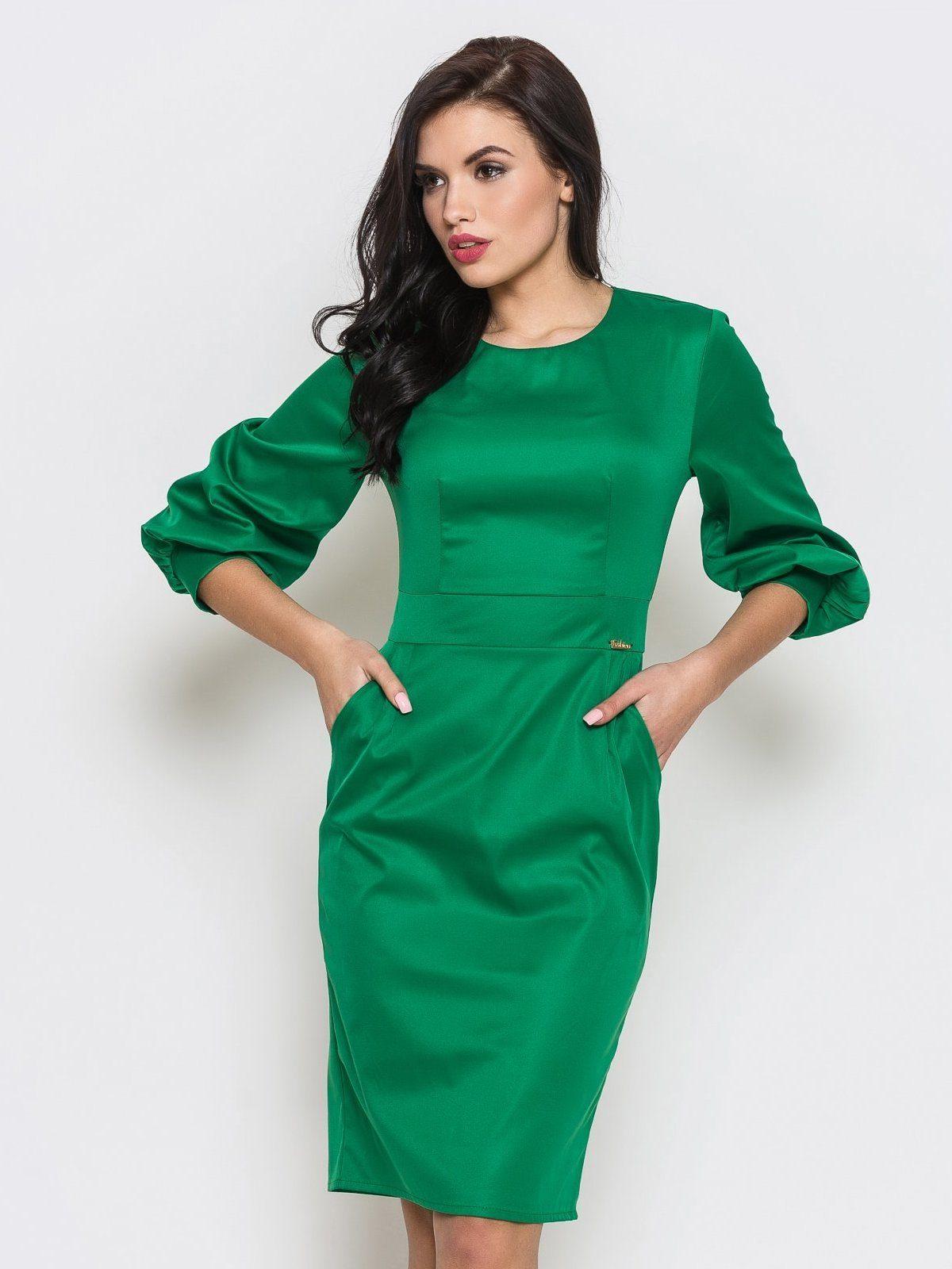 321ccd2b531e Zelené kancelářské šaty  jasná alternativa k černým oblečením