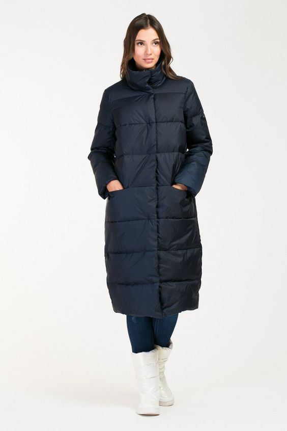 мода на пуховики зима 2019