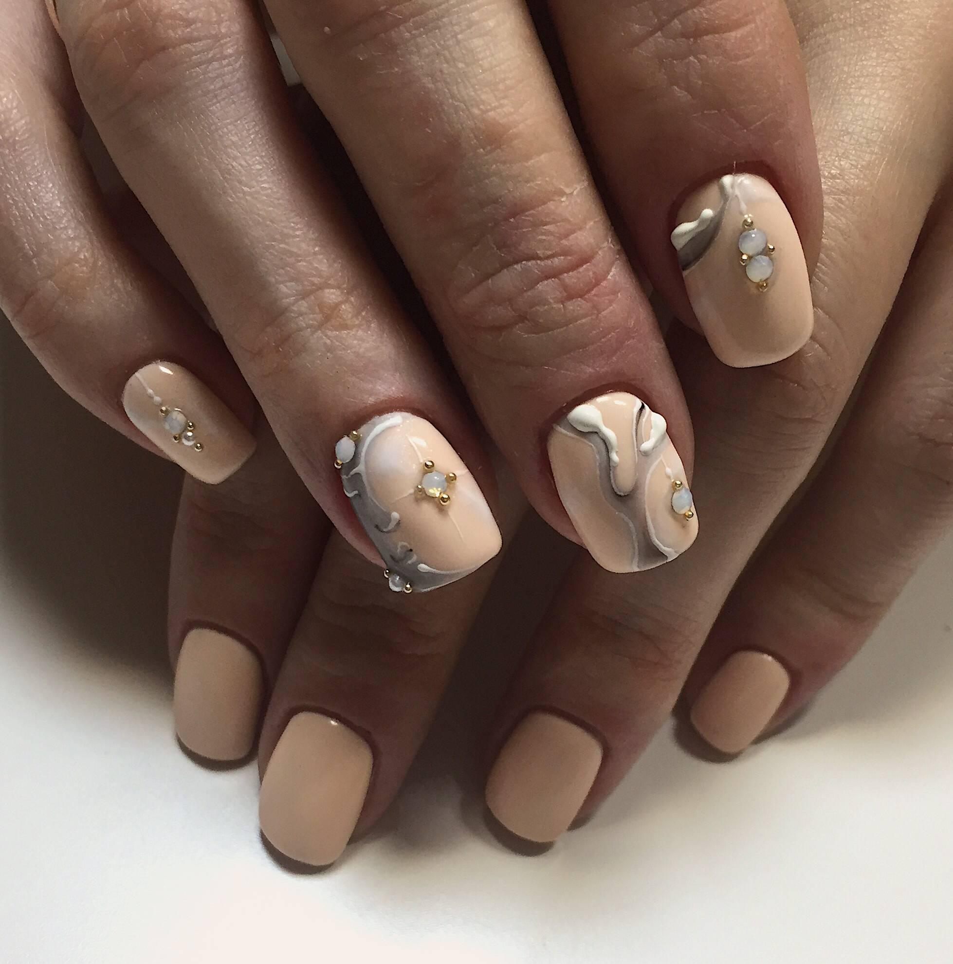 Шеллак На Короткие Ногти Фото Кошачий Глаз