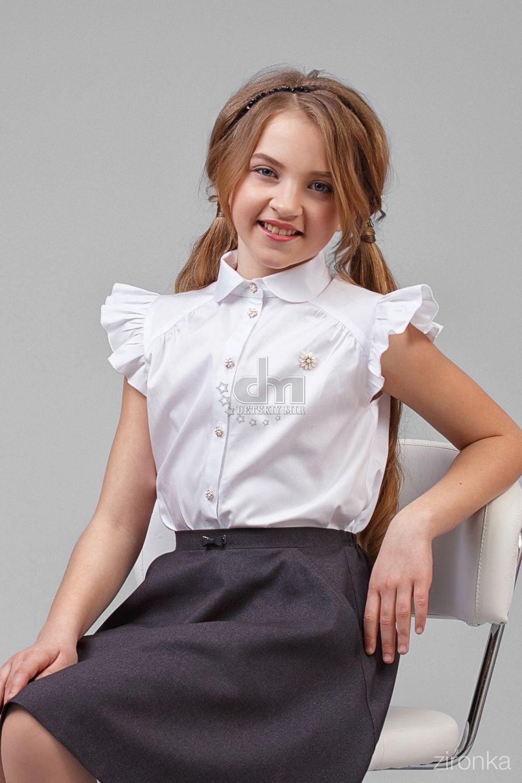 cdcdbb56a00 Школьные блузки  100+ фото красивых фасонов и сочетаний