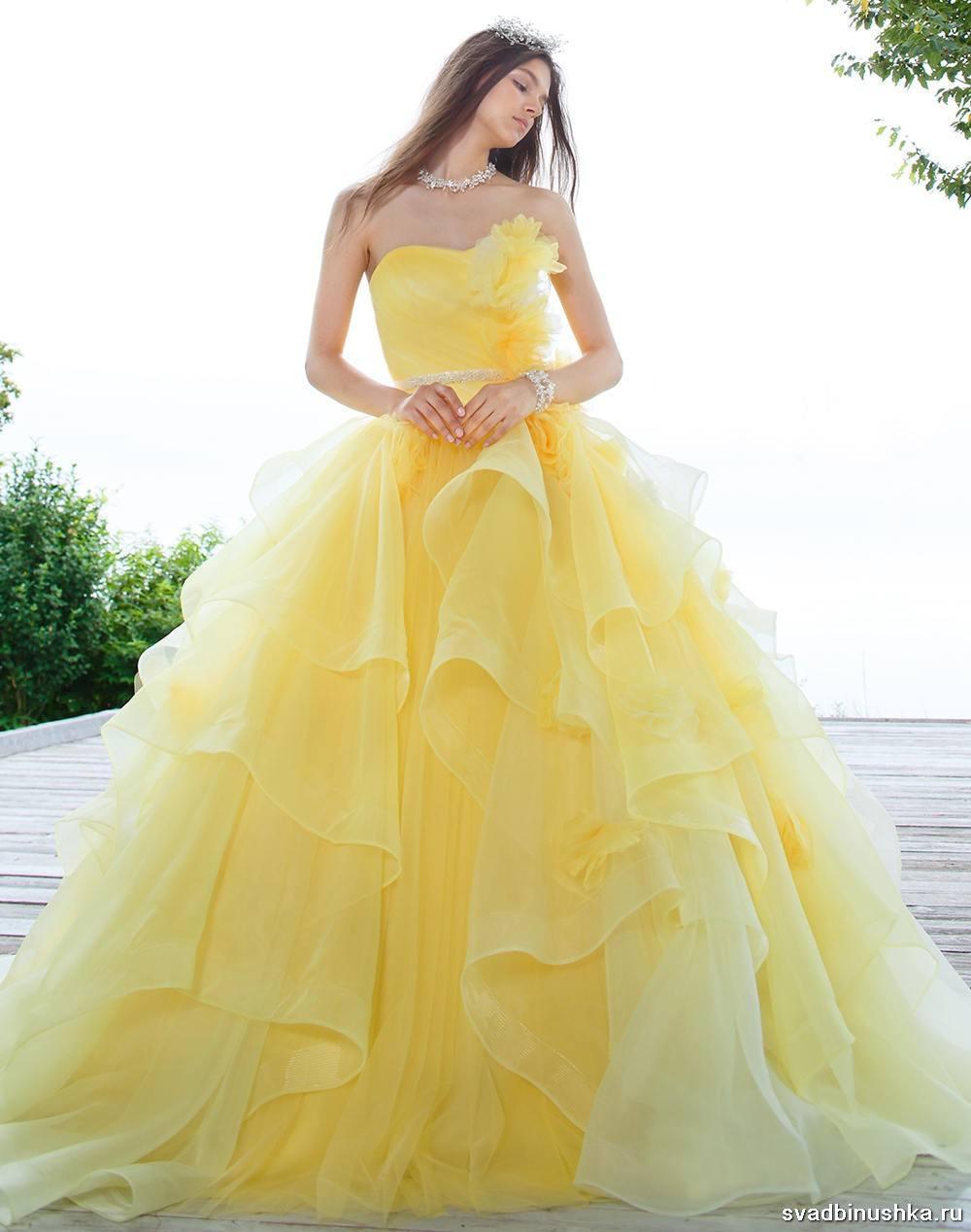 Vestido Amarelo 70 Idéias De Fotos Elegantes Para Uma