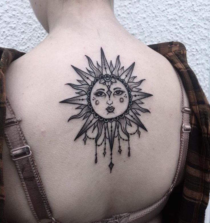 idei-dlya-tatuirovok - Каково значение татуировки с изображением солнца? -  - фото