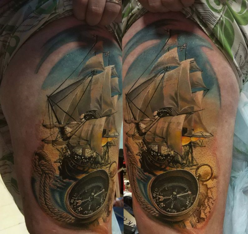 порывистые, часто фото татуировок корабль поэт серебряного