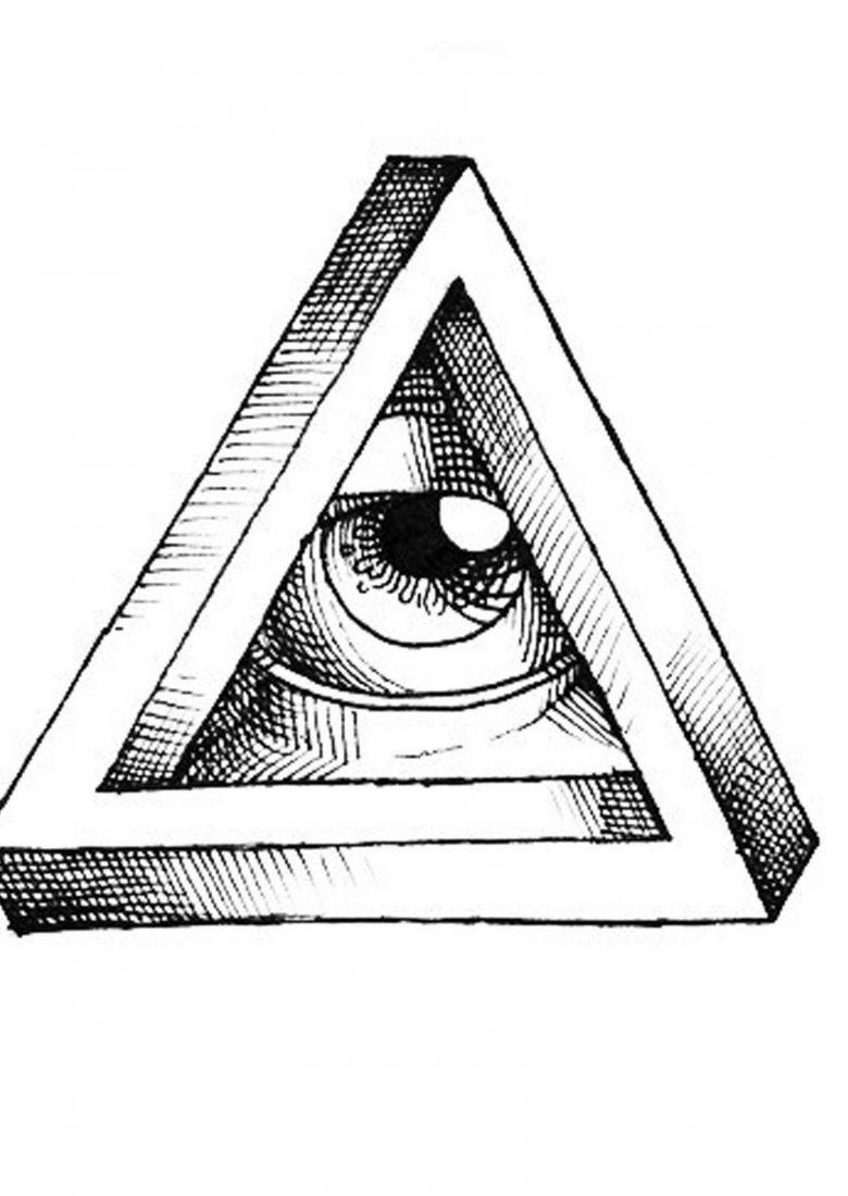 Migliore тату третий глаз в треугольнике значение