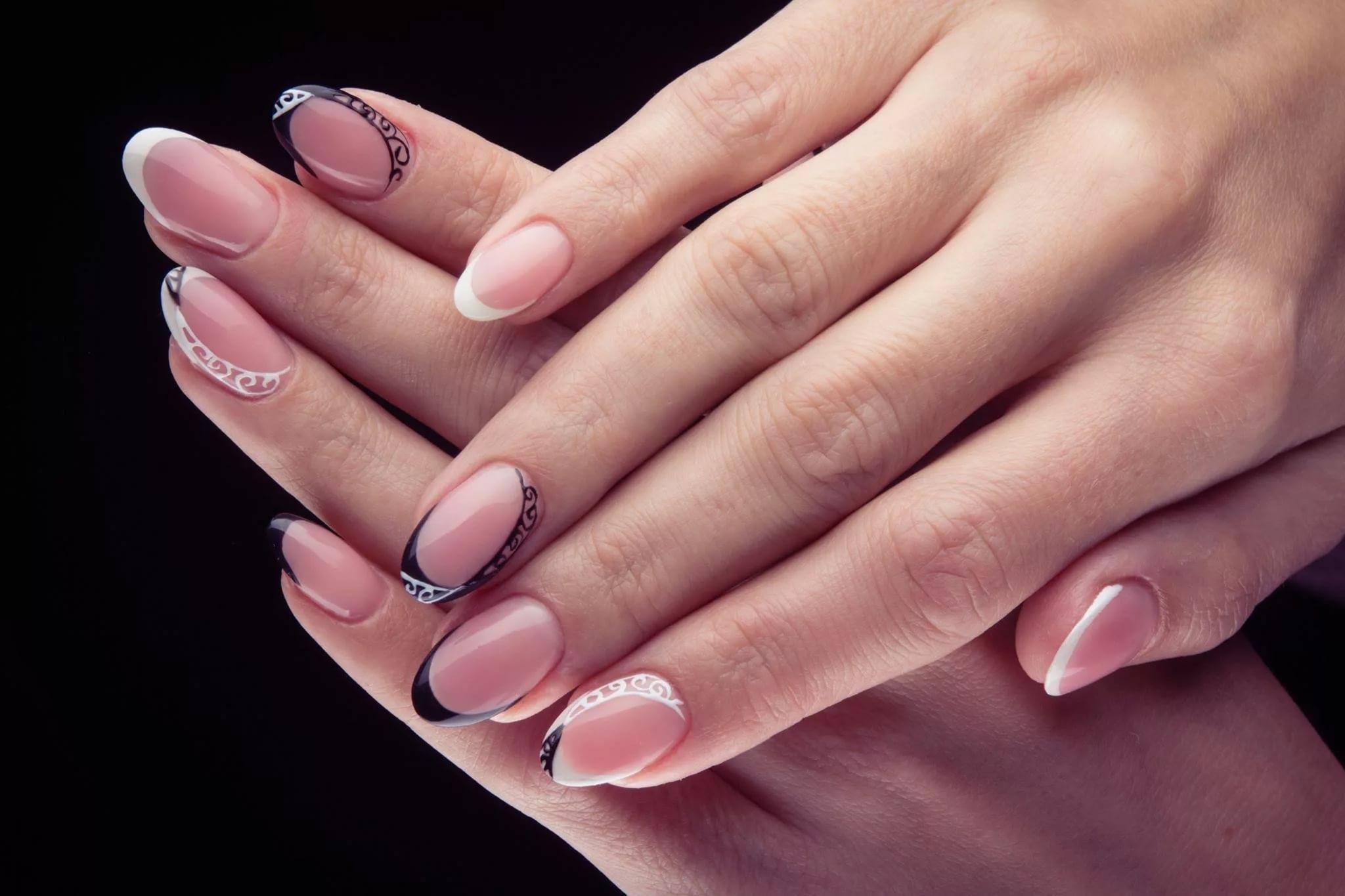 Как сделать прозрачные ногти в домашних условиях фото 896