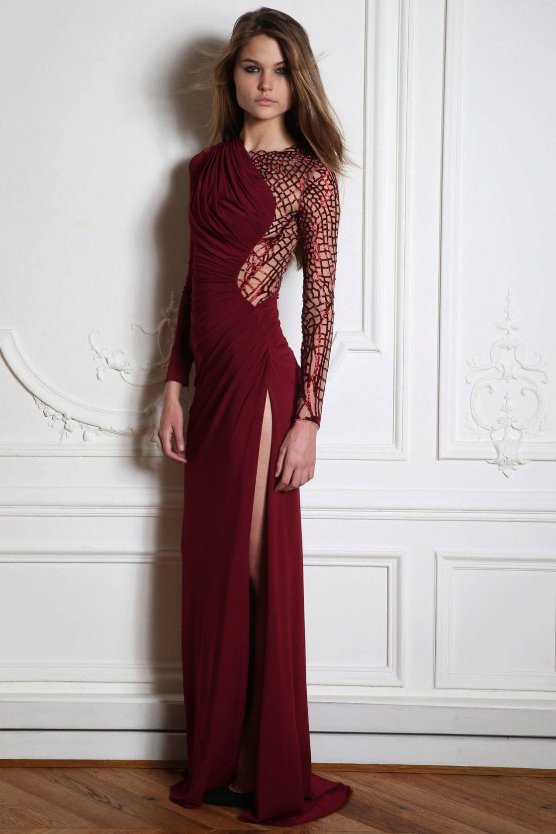 длинные бордовые платья фото теперь живет вероне
