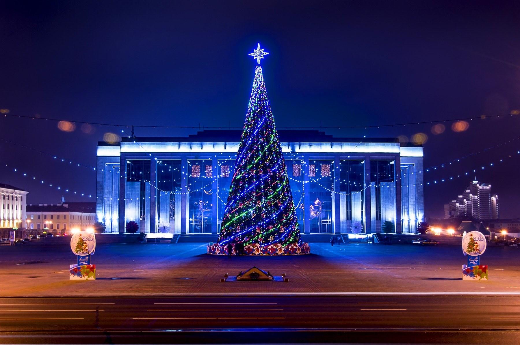 Новый 2019 год в Белоруссии в 2019 году