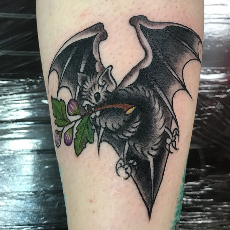 Летучая мышь картинки и татуировки