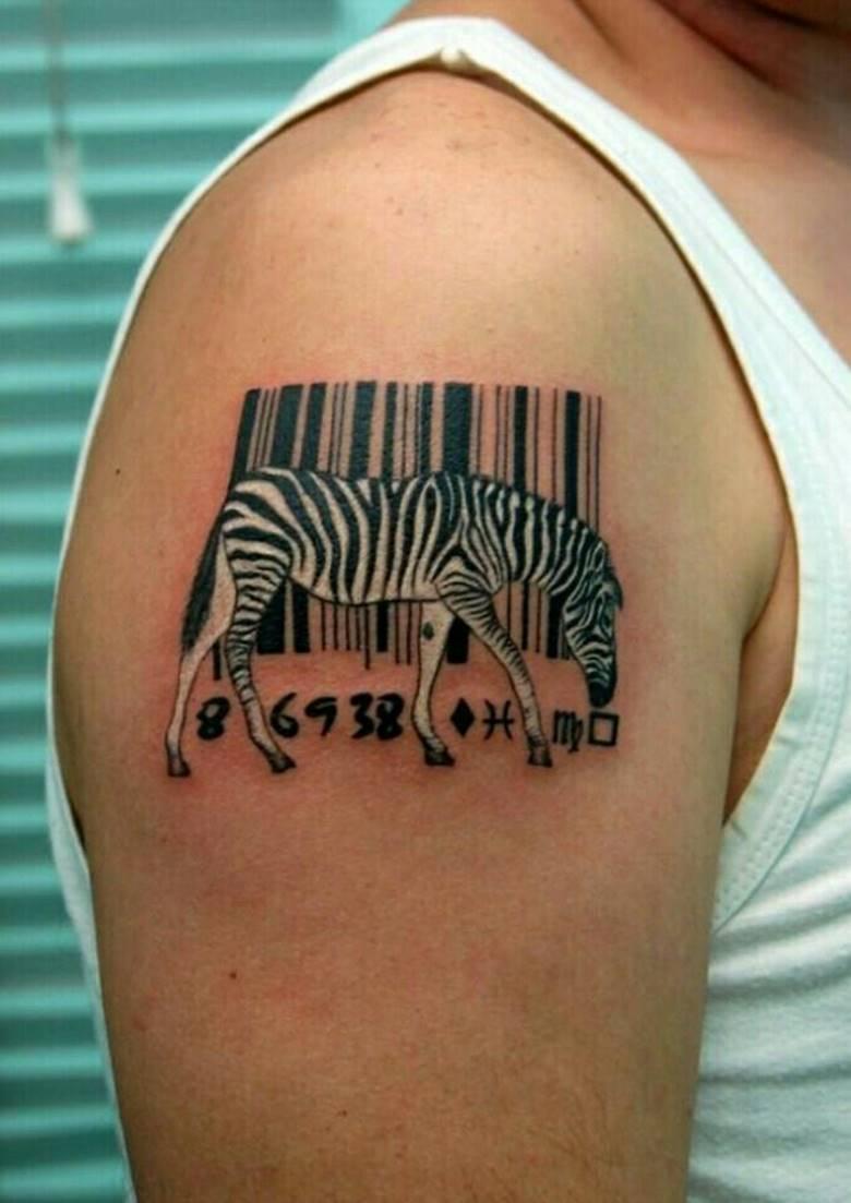 Татуировки штрих коды картинки