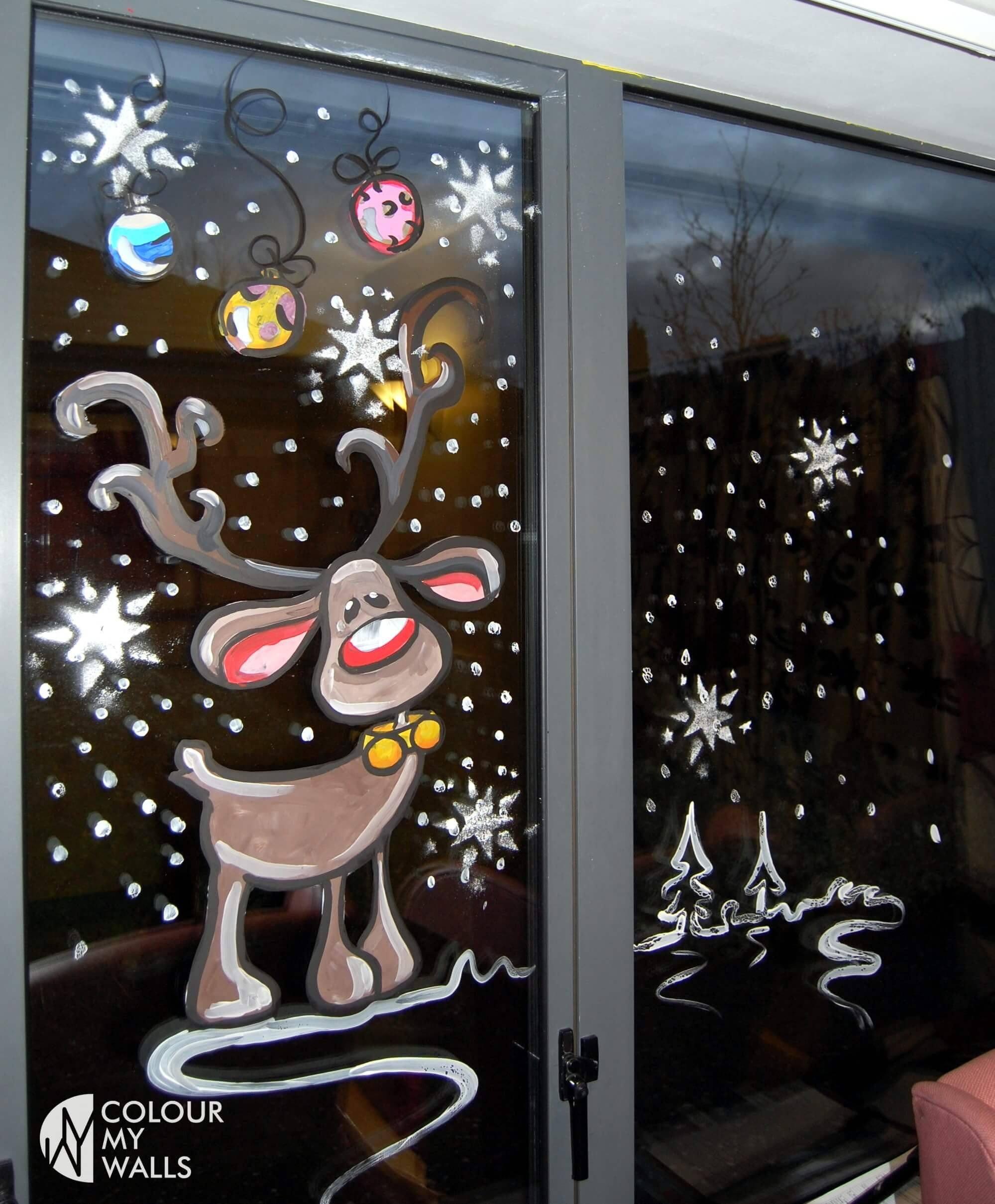 Самые красивые картинки для нового года на окна, дню рождения любимому