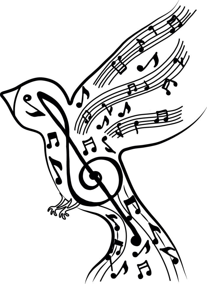 Ноты скрипичный ключ музыка картинки