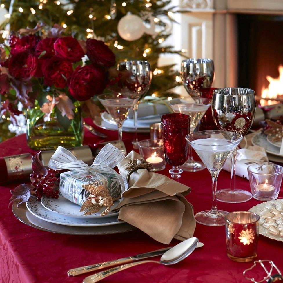 Букеты для сервировка стола фото на новый год