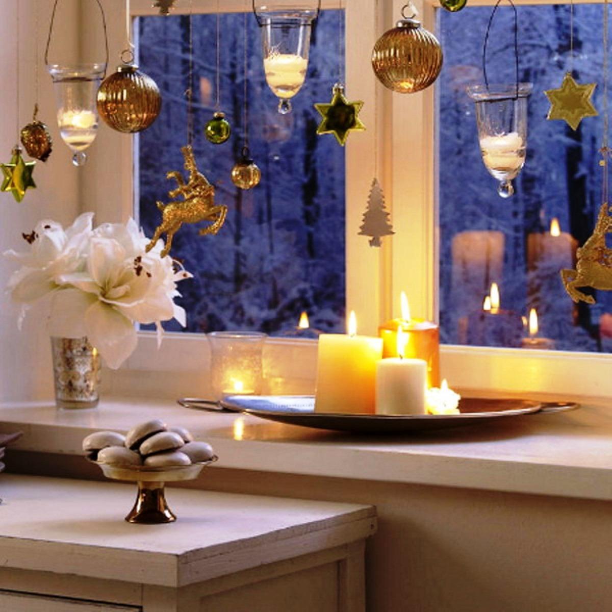 Фотографии как украсить дом к новому году