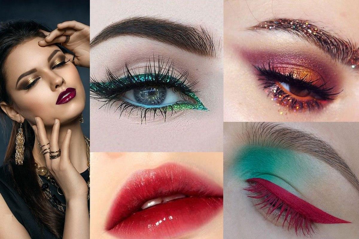 Как сделать яркий макияж глаз фото 478