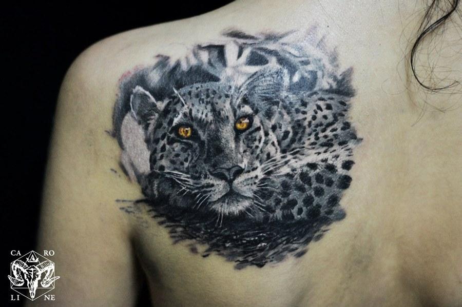 фото татуировок снежного барса финский