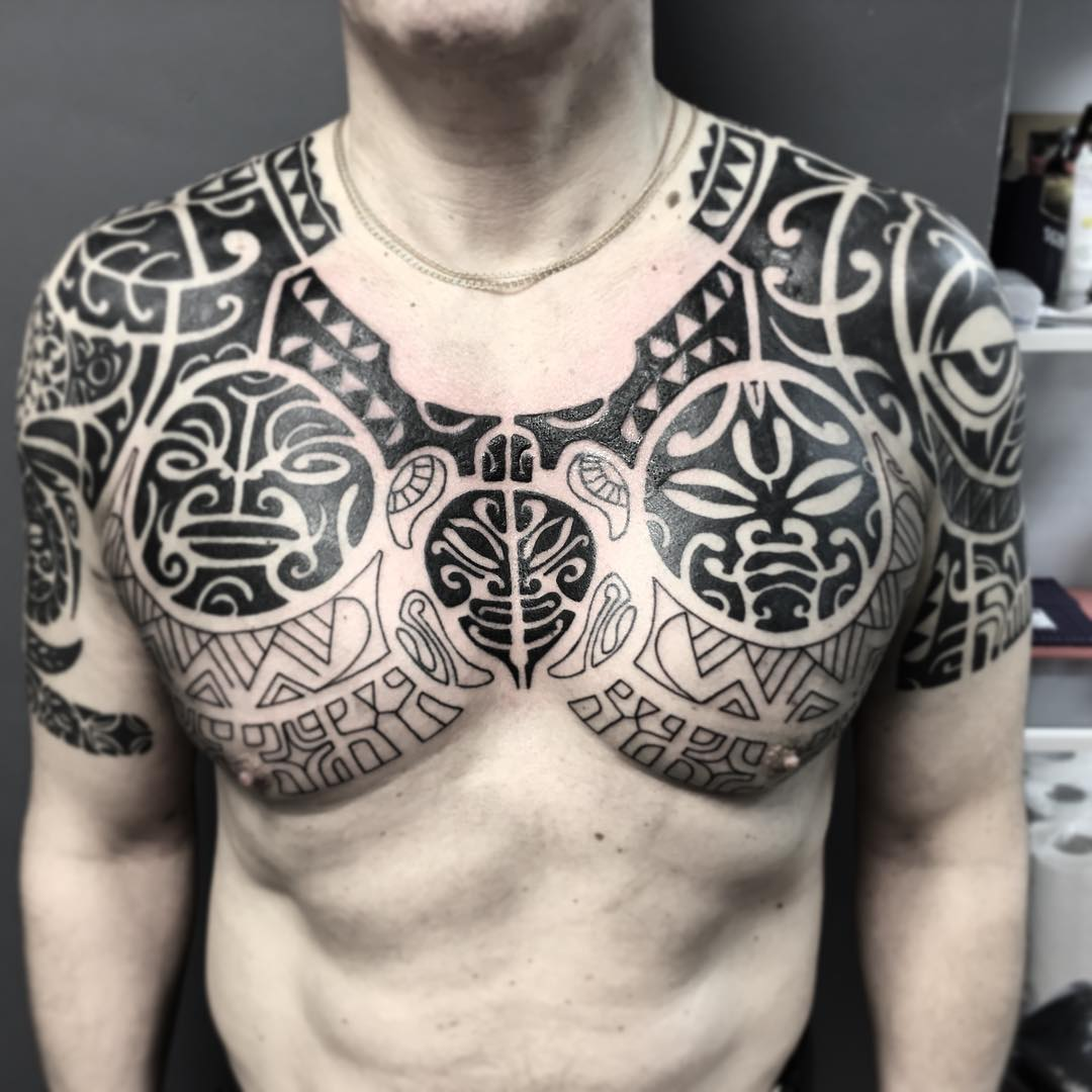 Popolare мужские тату эскизы на грудь