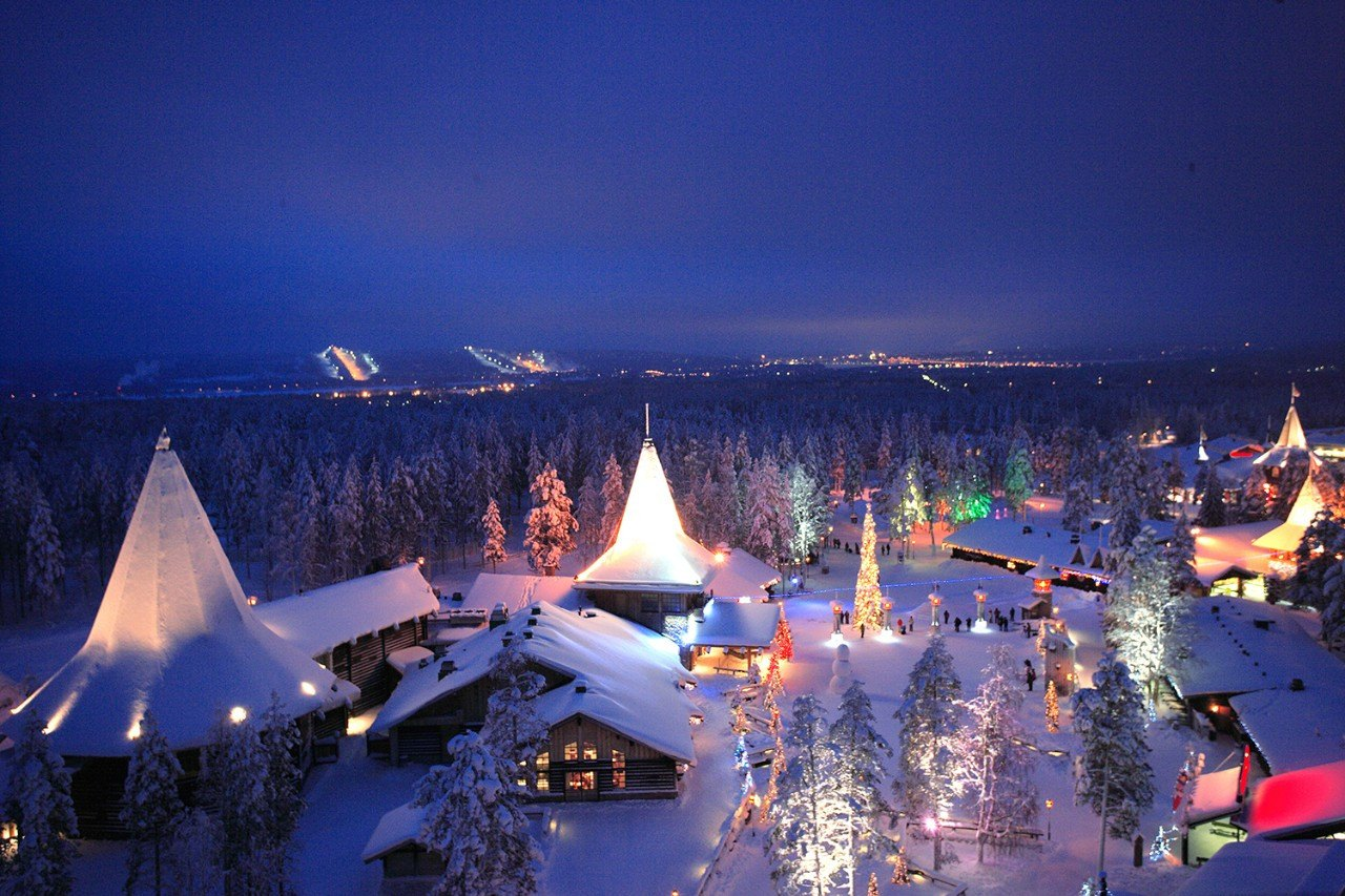 лапландия фото зимой часть глухих