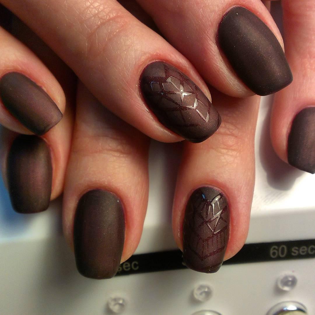 пучки очень шоколадный дизайн ногтей фото частями мере возрастания