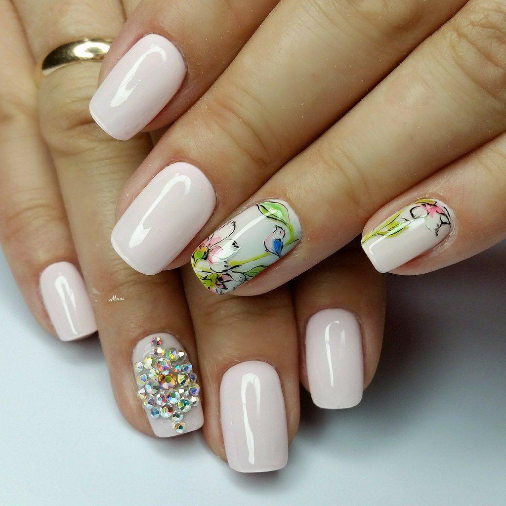 верхний дизайн ногтей весна 25 фото