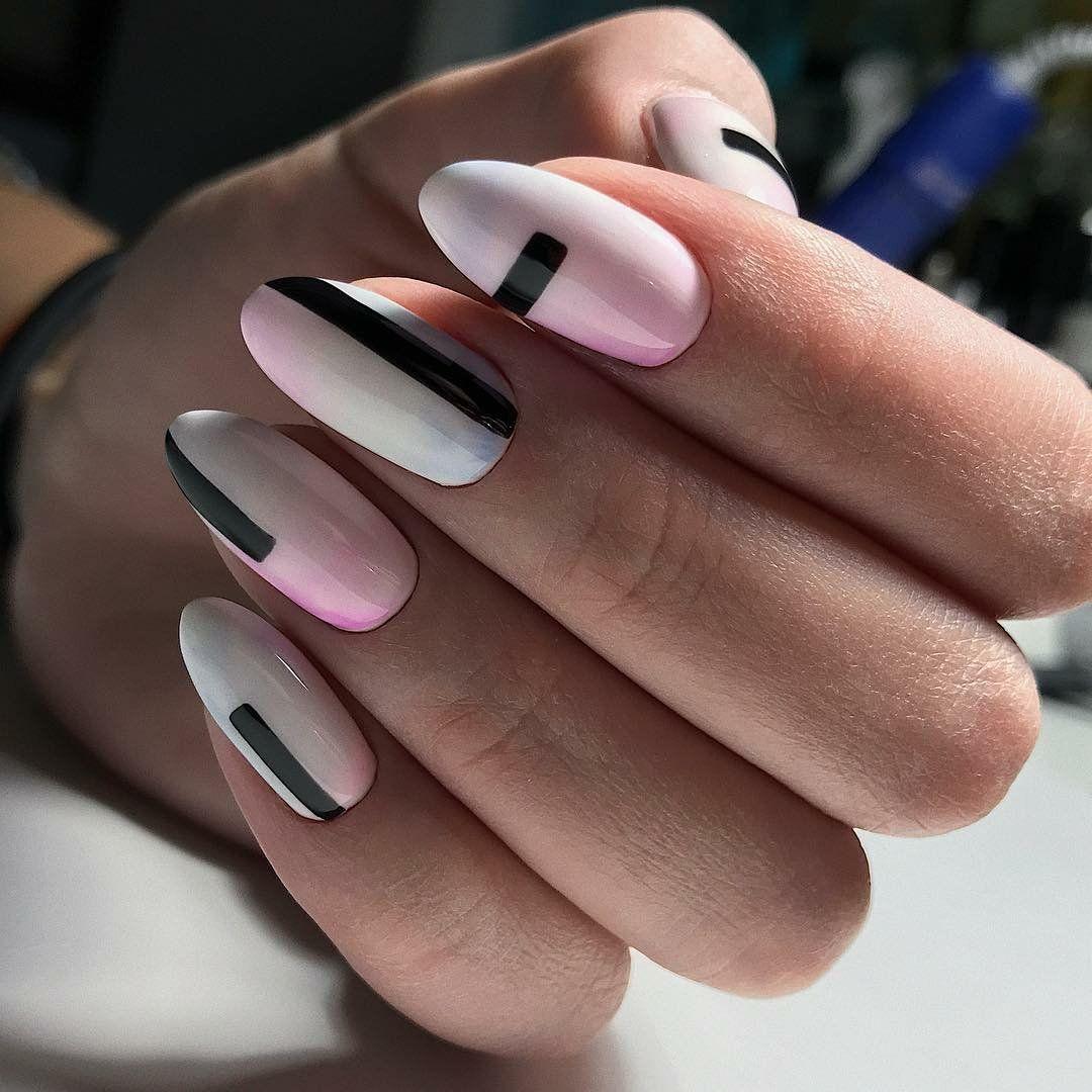 красивый дизайн ногтей 23 фото геометрия