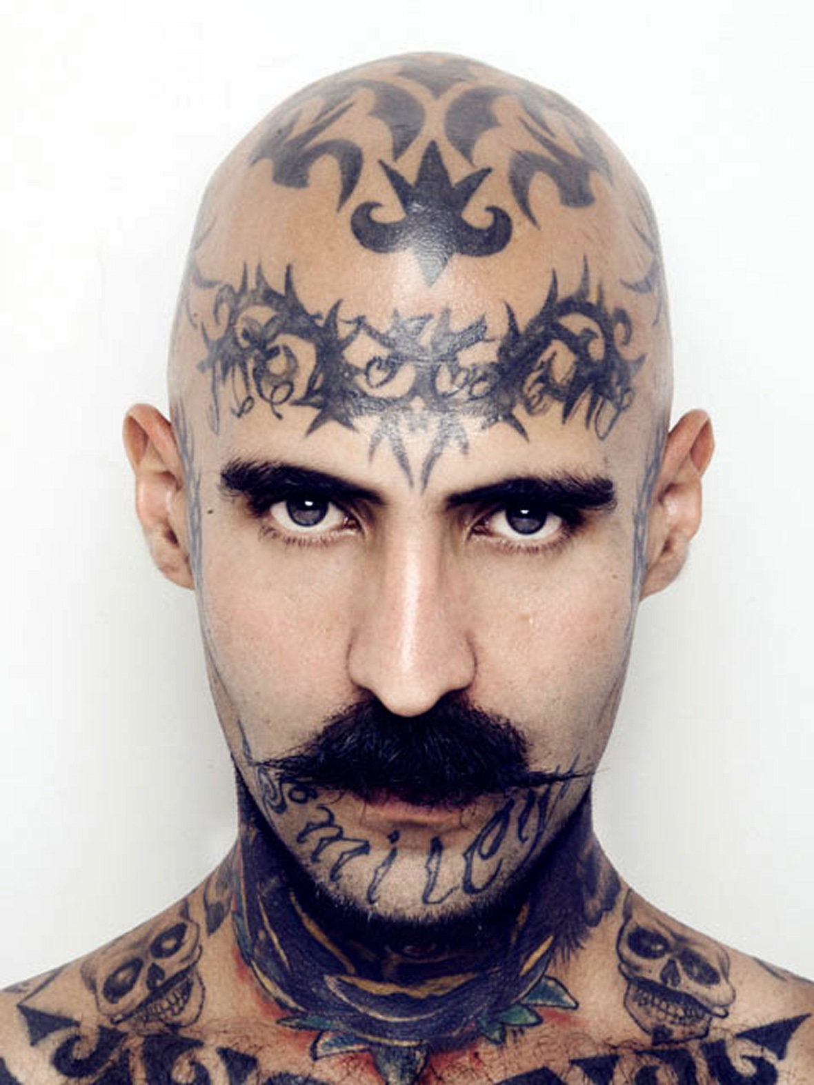 кулебак тату на лбу фото роспись эмалями