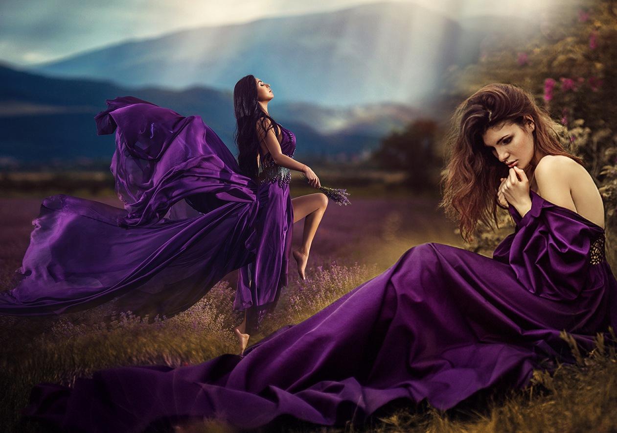 fa8b25e5ef569e8 Фиолетовое платье: 100 фото красивых моделей, фасонов, тенденций