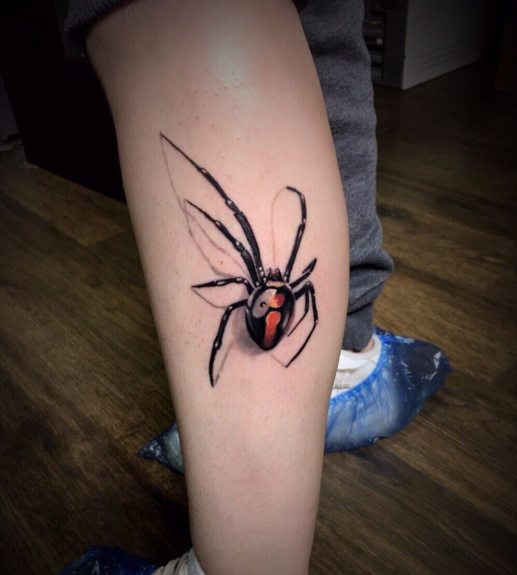 Картинки наколки паука