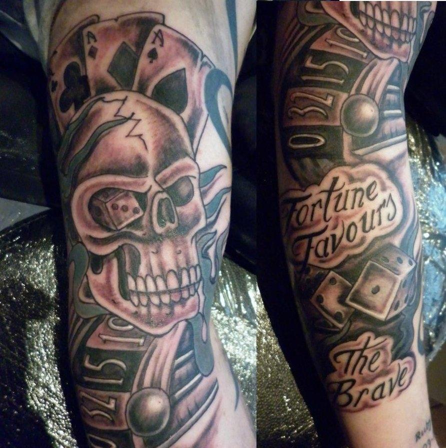 Фото татуировок бардак на руке